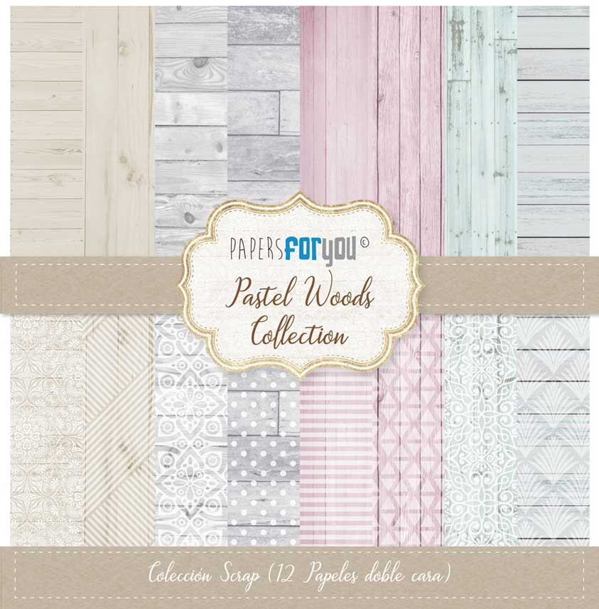 Pastel woods. Papers for you